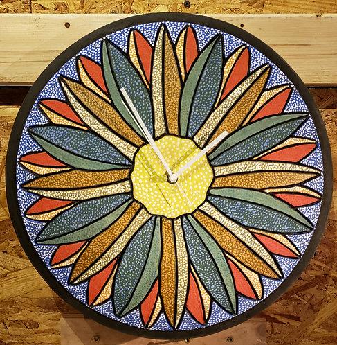 Kansas Floral Clock