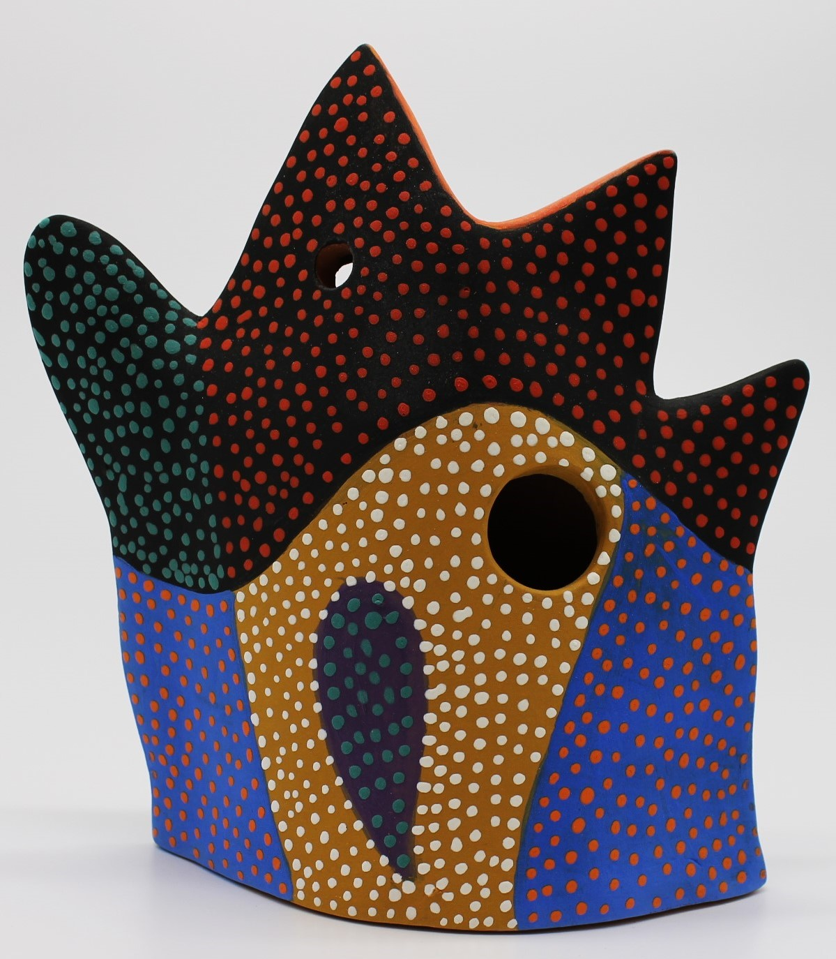 Chicken Birdhouse-Sold