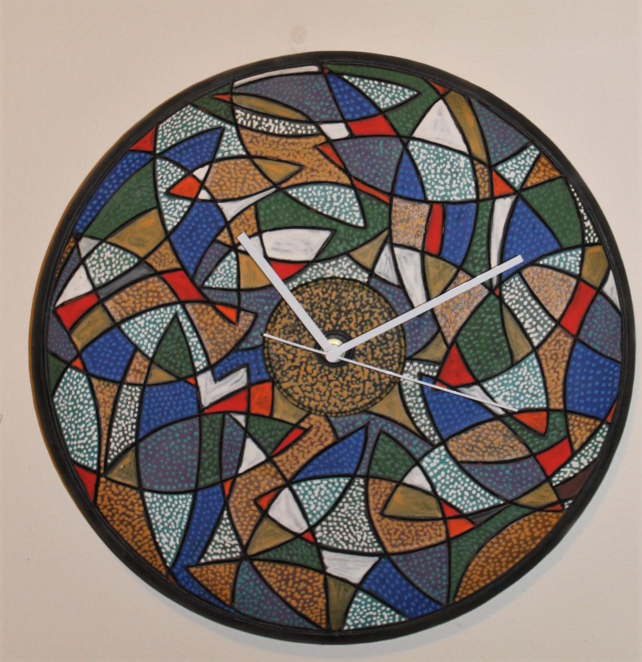 "15"" D Wall Clock"