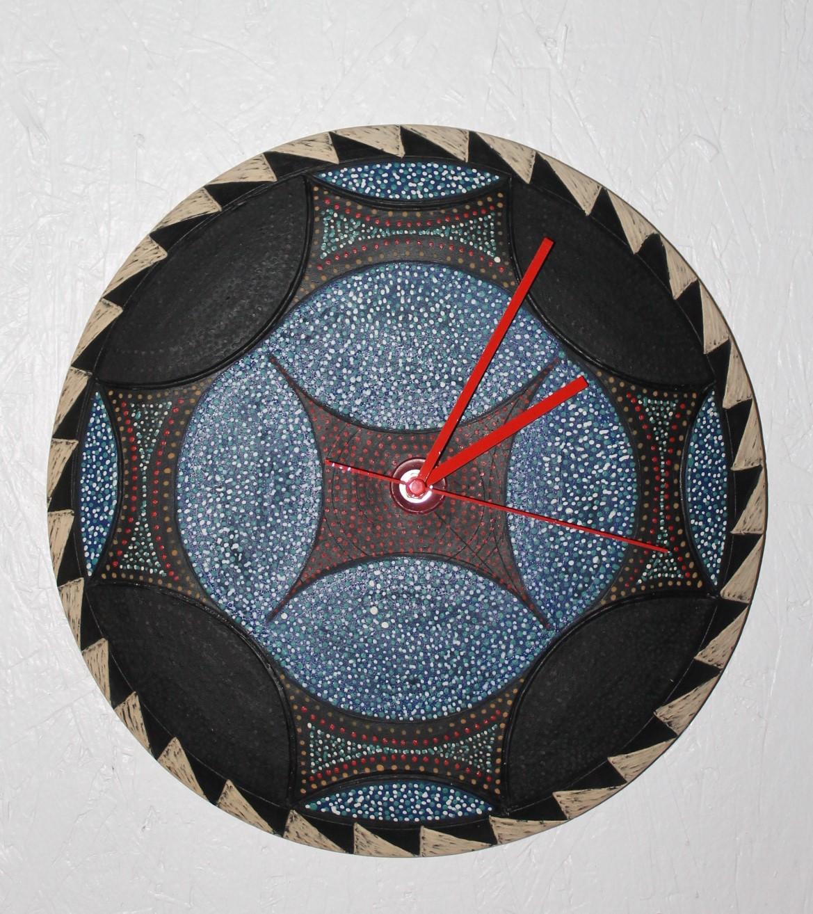 Native American Wall Clock $65.00