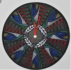 """18"""" Wall Art Clock $225"""