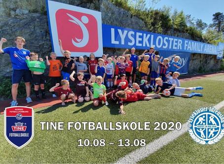 Påmelding til Tine Fotballskole