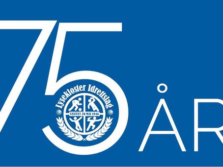 75-års jubileum 30. mai