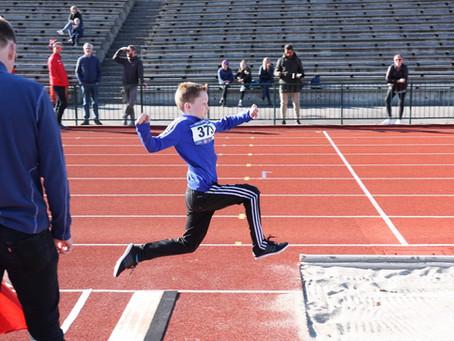 Første friidrettsstevne for sesongen