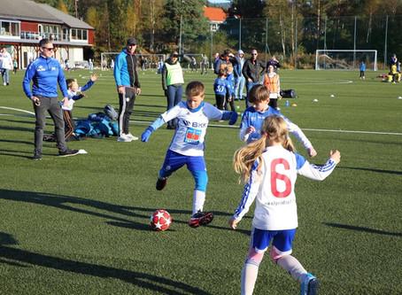 Vellykket serieturnering i fotball