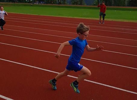 Fin friidrettskveld på Skansemyren