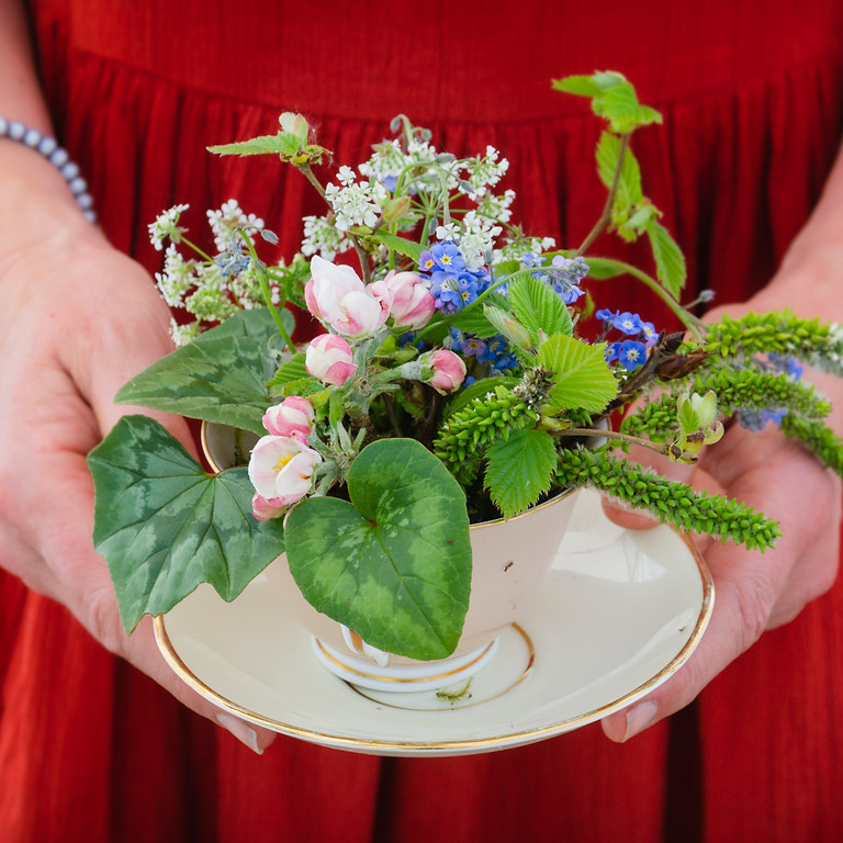 Mothers Day Tea Cups  /Postponed