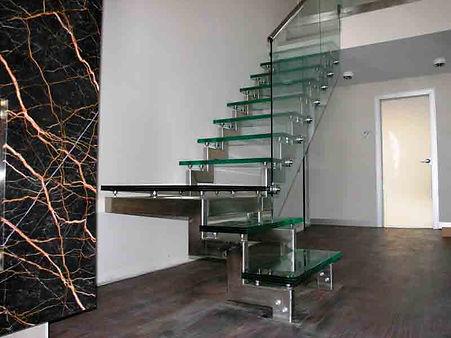 Ступени для лестниц, лестничные ограждения, ограждение из нержавеющей стали
