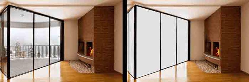 Smart стекло,