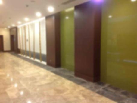 Стеклянные стеновые панели, облицовка стен стеклом, стеклянные панели