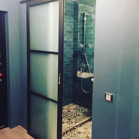 Раздвижные лофт двери
