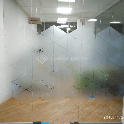 стеклянная перегородка