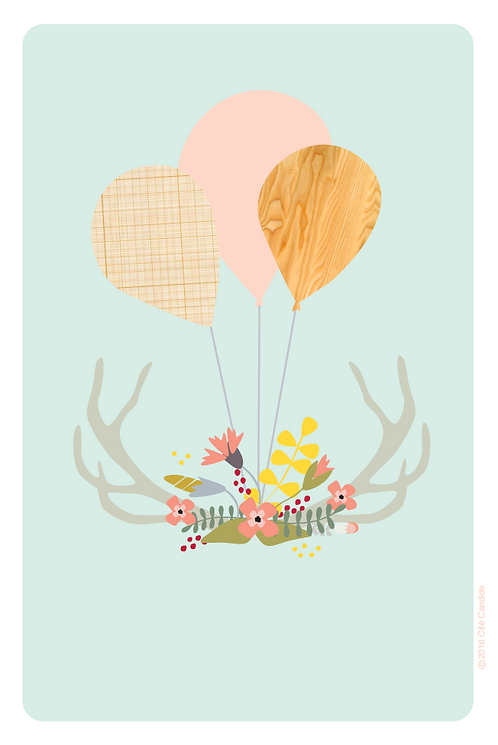 Carte Ballons