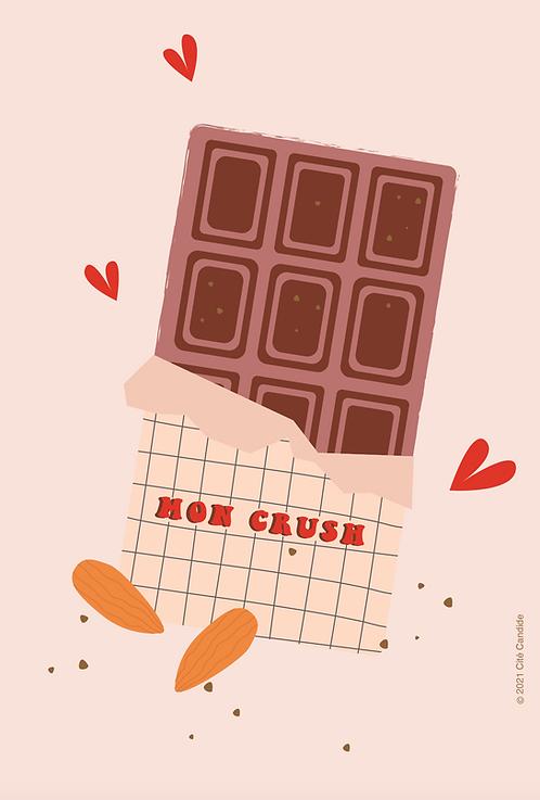 Carte Mon crush