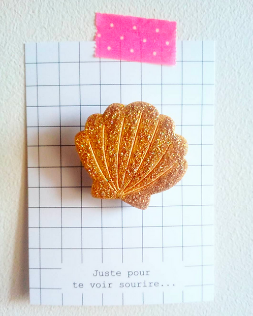 Broche coquille