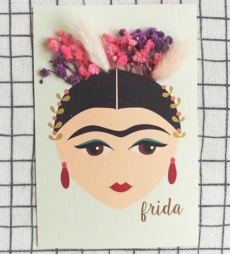 Carte bouquet Frida