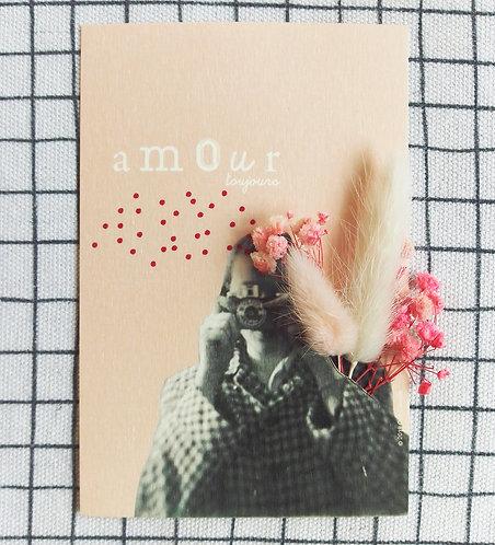 Carte bouquet Amour toujours