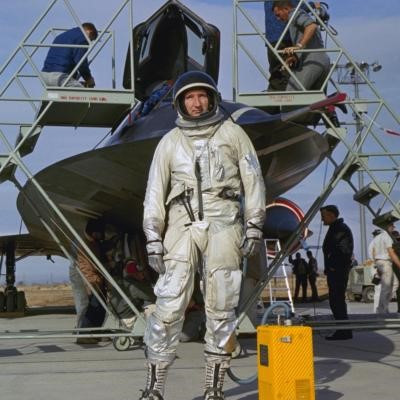 """Robert J. """"Bob"""" Gilliland passed away July 4, 2019.  Gilliland was the first person to fly the iconic SR-71 Blackbird."""