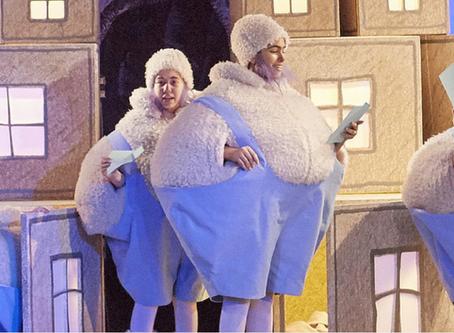"""""""WAS IST LOS BEI DEN ENAKOS?"""" at Wiener Staatsoper"""