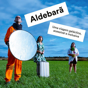 Created the video Installation for - Aldebarã by Marco Paiva