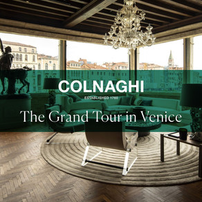 "Cinematography for Colnaghi ""GRAND TOURIST""  in Venice"