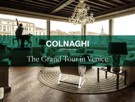 "Cinematography for Colnaghi ""GRAND TOURIST""  in Venice"