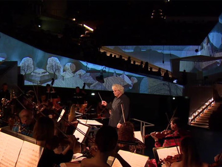 VIDEO-INSTALATION for The Two Fiddlers Opera - Berliner Philharmoniker