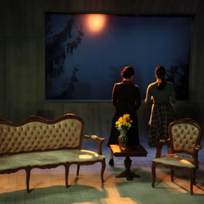 Video-instalation for - Rosmersholm - Theater Play