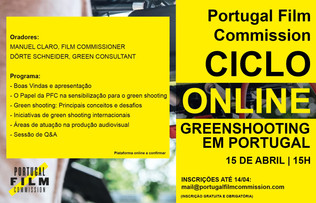 "Conferência ""Greenshooting em Portugal"""