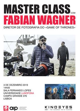 CINEVIDEO EXPO - Masterclass Fabian Wagner - 3 DEZ- 14h - Universidade Lusófona
