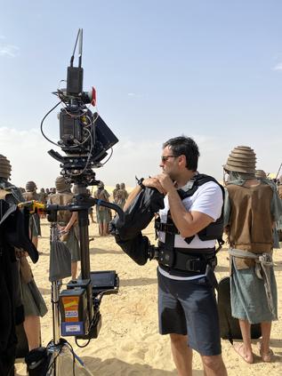 Samuel filmou no Egipto e é destaque na ARRI