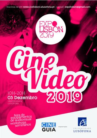 CINEVIDEO EXPO - 03 de DEZEMBRO na UNIVERSIDAE LUSÓFONA