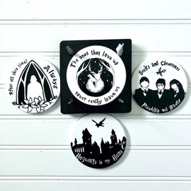 Coasters and Holder
