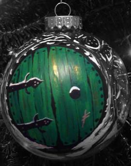 Custom painted ornament