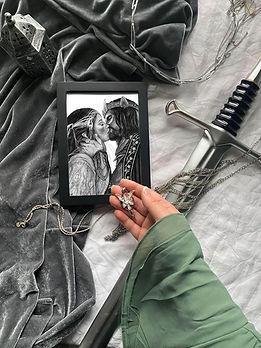 Aragorn & Arwen Artwork