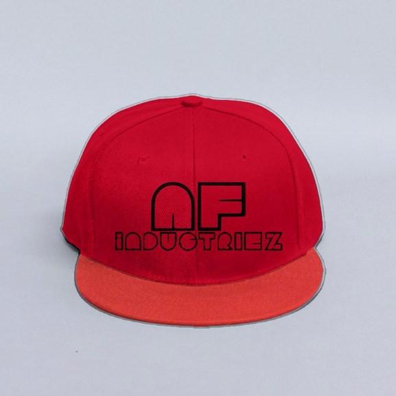 734db927852 AF INDUSTRIEZ CUSTOM RED SNAPBACK HAT