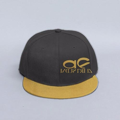 4fe8e66c873 AF INDUSTRIEZ CUSTOM GOLD SNAPBACK HAT
