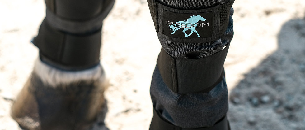 Pair-2 Lower-Leg Compression Ice Wraps, Plus-1 FREE