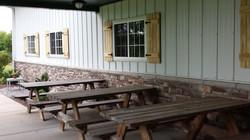 Back Porch & Picnic Tables