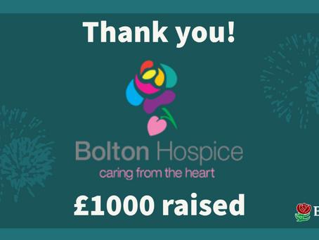 Bolton Hospice Fundraising