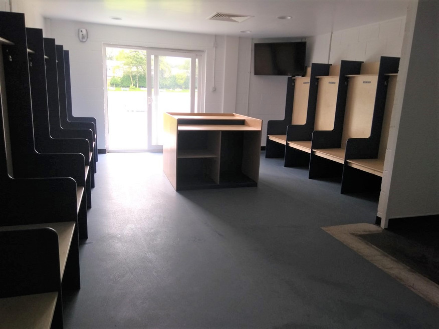New Home Changing Rooms