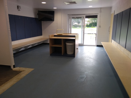 New Away Changing Rooms