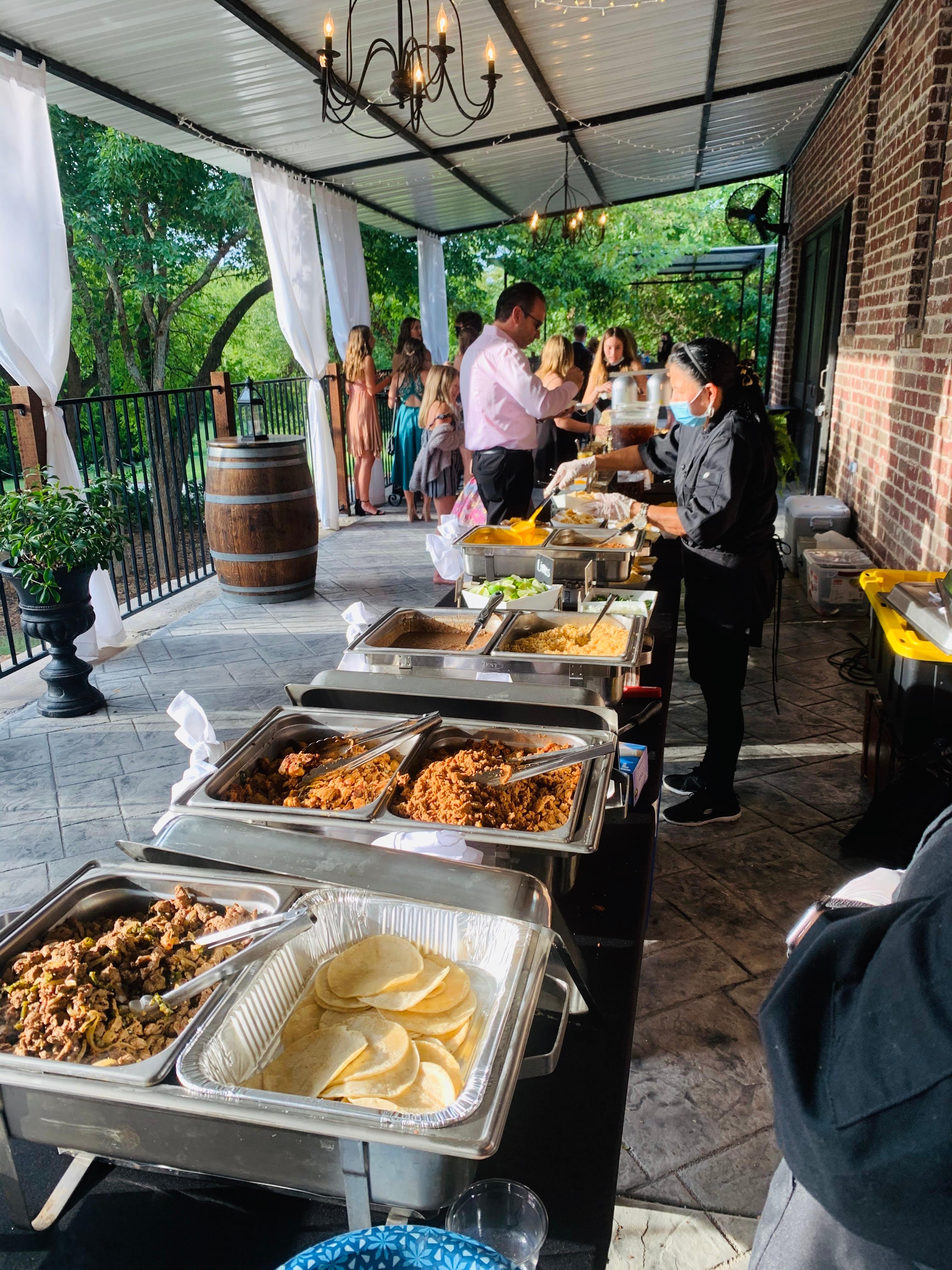 Wedding Street Tacos Service