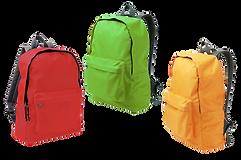 Colourful Kids Backpacks