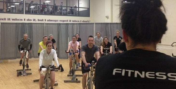 Over $1000 Raised in Spinathon