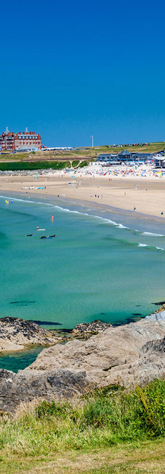 Newquay's Fistral Beach