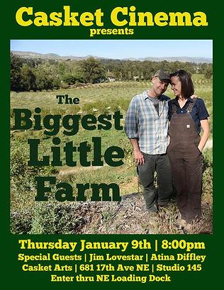 Biggest Little Farm - Movie Night at Casket Cinema