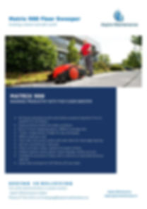 Aspire Matrix 900 Floor Sweeper Brochure