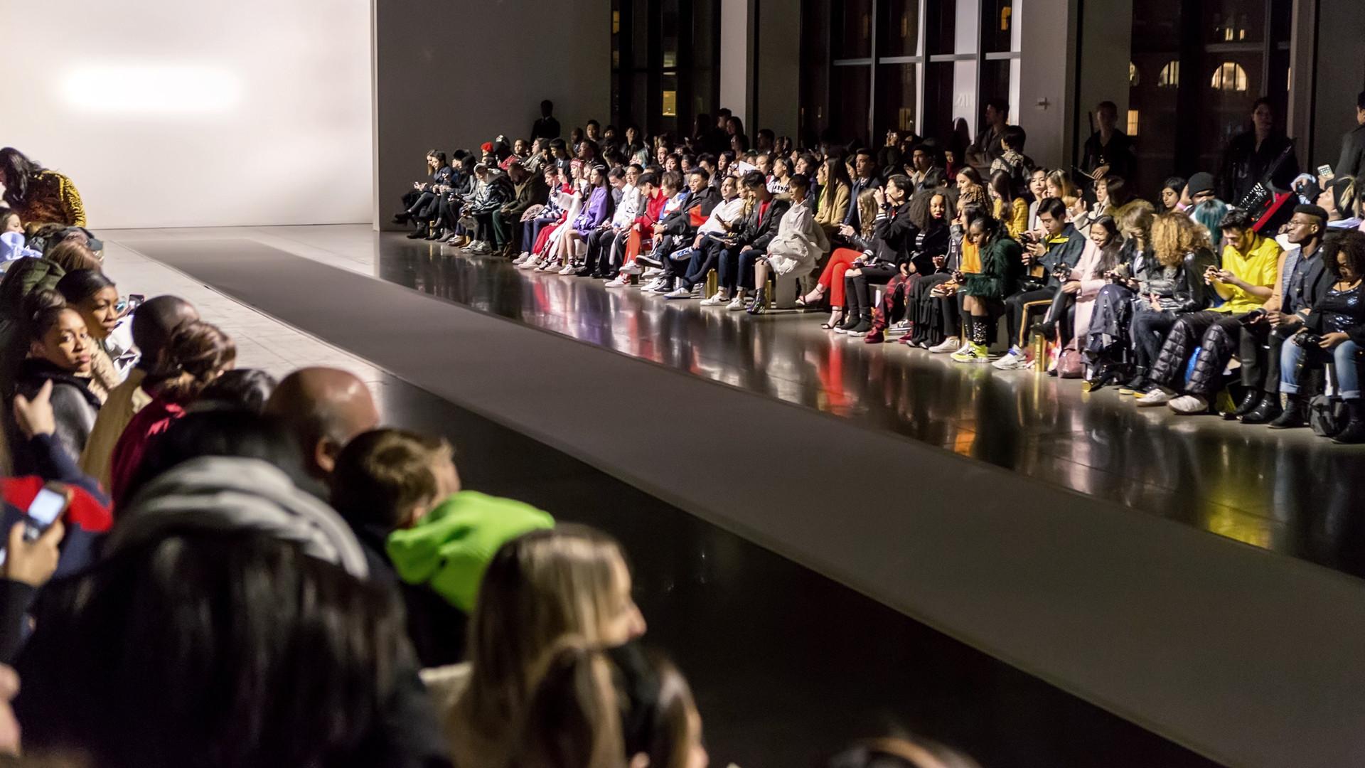 PONY AW19 New York runwayshow