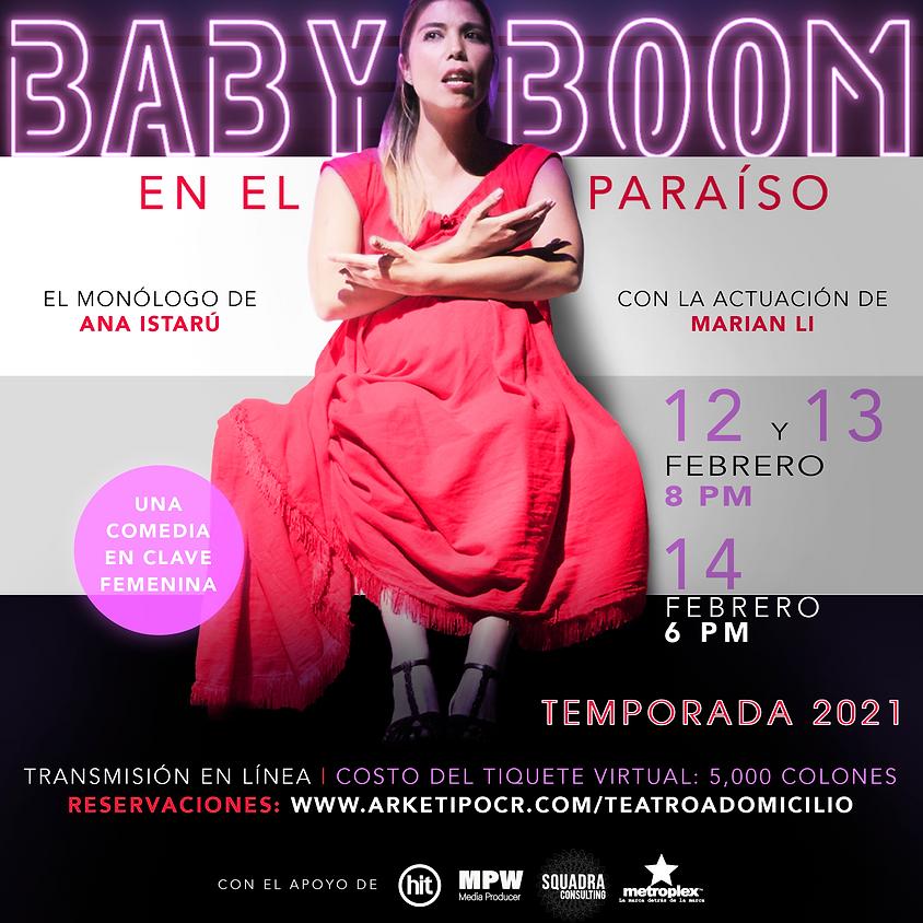BABY BOOM EN EL PARAÍSO (Comedia)